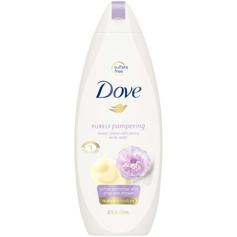 Dove Purely Pampering Sweet Cream & Peony Body Wash - 22 fl oz - image 1 of 4