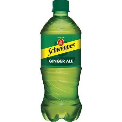 Schweppes Ginger Ale Soda - 20 fl oz Bottle