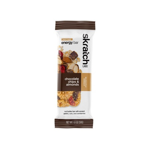 Skratch Labs Anytime Energy Bars Chocolate Chip Almond - image 1 of 3