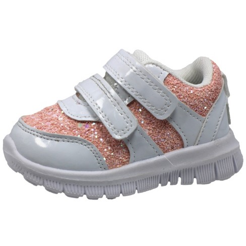 Gerber Chunky Glitter Sneakers Toddler Girls - image 1 of 4