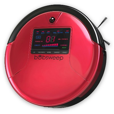 bObsweep PetHair Robotic Vacuum and Mop - Rouge