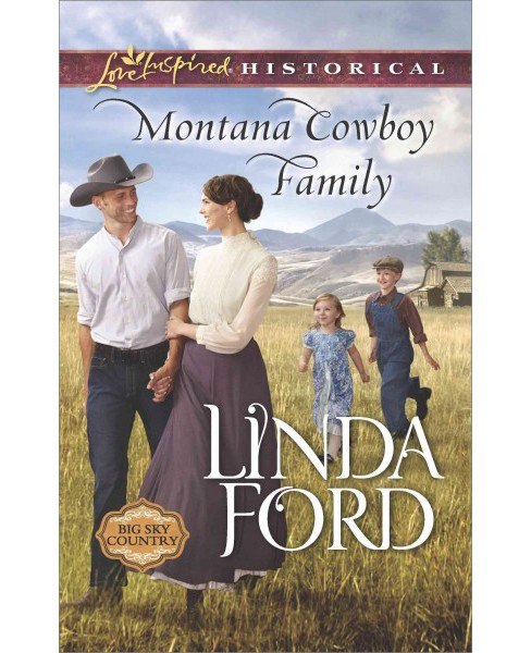 Montana Cowboy Family (Paperback) (Linda Ford) - image 1 of 1