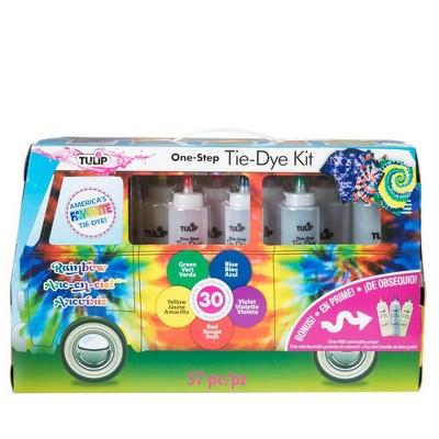 Tulip 57pc One-Step Tie-Dye Kit - Rainbow