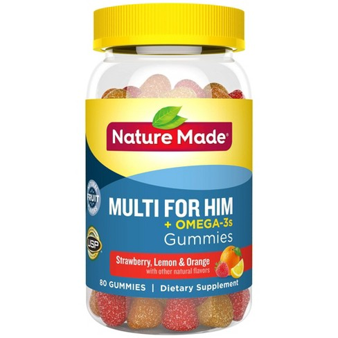 Nature Made Multi for Him Plus Omega-3 Gummies - image 1 of 4