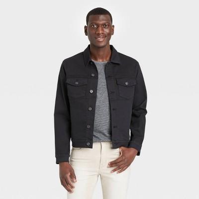 Men's Denim Trucker Jacket - Goodfellow & Co™ Black
