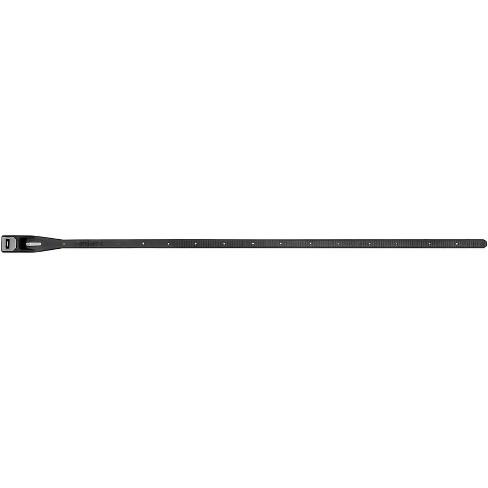 Hiplok Z-Lok Security Tie Lock Single: Black Steel Reinforced Bicycle Lock - image 1 of 2