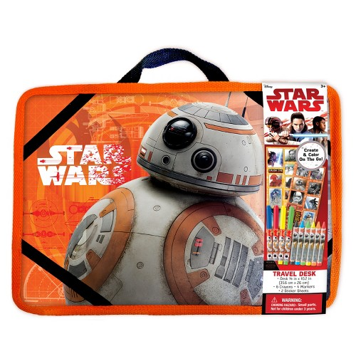 Star Wars BB8 Travel Desk Coloring Kit, Multi-Colored