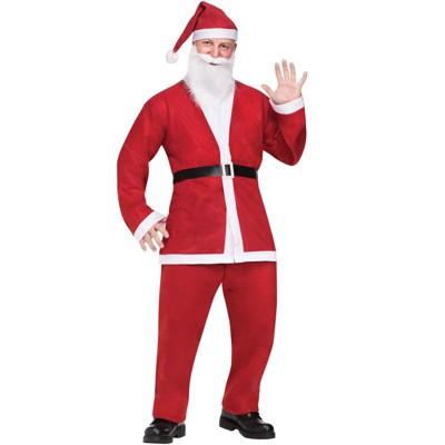 Fun World Pub Crawl Santa Suit Adult Costume