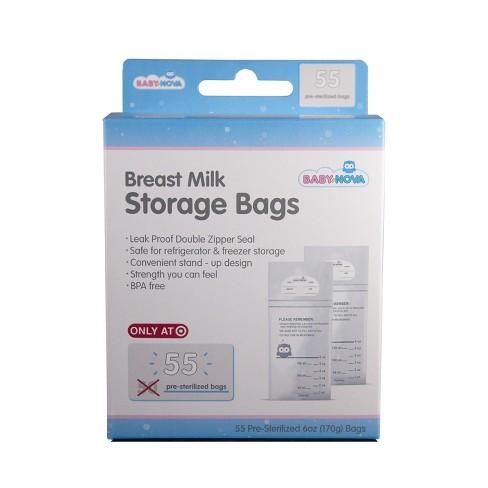 Baby Nova Breast Milk Storage Bags - 55ct - image 1 of 2