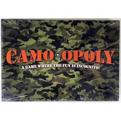 Camo-Opoly Board Game