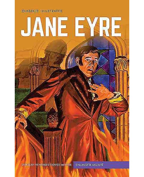 Classics Illustrated : Jane Eyre (Hardcover) (Charlotte Bronte) - image 1 of 1