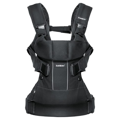 454ce5d485c BabyBjorn® Baby Carrier One - Black Cotton   Target