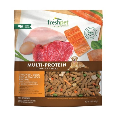 Freshpet Select Multi-Protein Complete Meal Refrigerated Wet Dog Food - 3lbs
