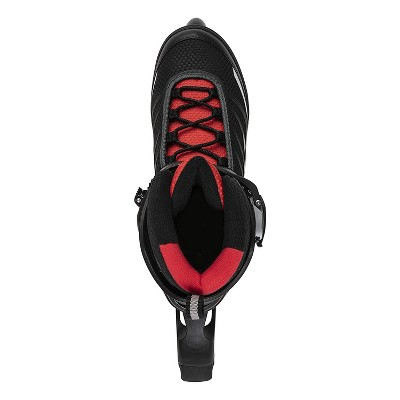 Rollerblade Bladerunner Advantage Pro XT Men's Adult Outdoor Recreational Fitness Inline Skate, Size 9, Black and Red