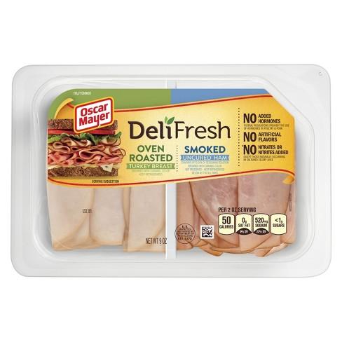 Oscar Mayer Deli Fresh Smoked Ham or Turkey - 9oz - image 1 of 1