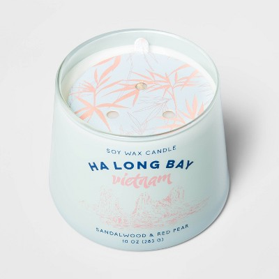 10oz Tapered Glass Jar Single Wick Candle Ha Long Bay - Opalhouse™
