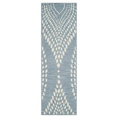 Bella Rug - Blue/Ivory - (2'3 X9')- Safavieh®