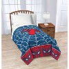 "Marvel Spider-Man 46""x60"" Throw Blanket Blue/Red - image 3 of 3"