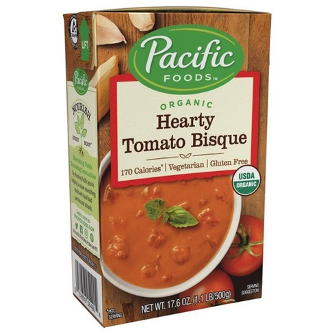 Pacific Foods Organic Hearty Tomato Bisque - 17.6oz - image 1 of 4