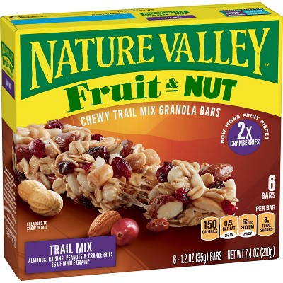 Granola & Protein Bars: Nature Valley Chewy