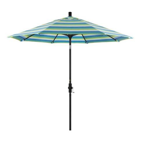 9' Patio Umbrella in Seville Seaside - California Umbrella - image 1 of 2