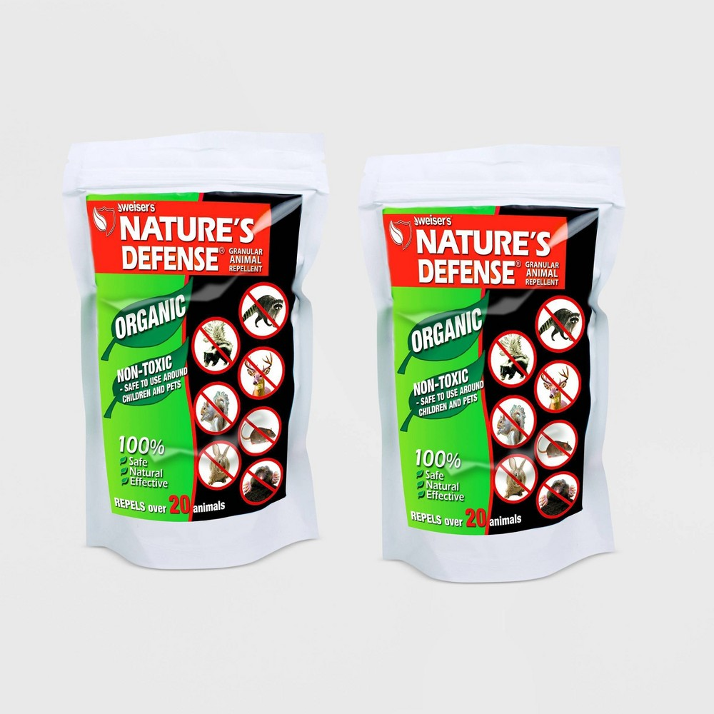 Image of 2pk 22oz Nature's Defense Organic Animal Repellent - Bird-X