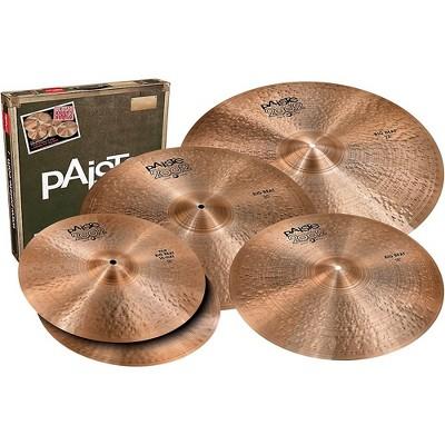 Paiste 2002 Big Beat Big Sound Box Set with Free 18 in. Cymbal