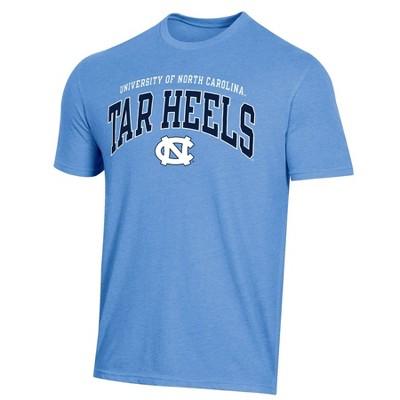 NCAA North Carolina Tar Heels Men's Short Sleeve Heather T-Shirt