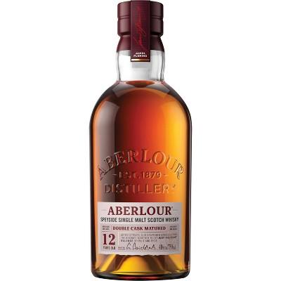 Aberlour 12yr Highland Single Malt Scotch Whisky - 750ml Bottle