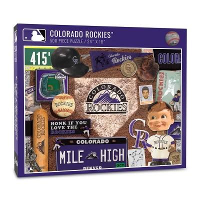 MLB Colorado Rockies 500pc Retro Series Puzzle