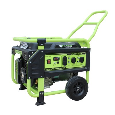 Green-Power 6500w Recoil Start Gasoline Powered GN6500CW Portable Generator