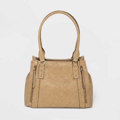 Bueno Snap Closure Shoulder Handbag