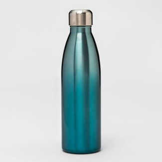 17.5oz Stainless Steel Water Bottle Blue