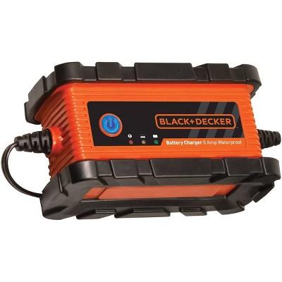 BLACK+DECKER 6 amp Battery Charger