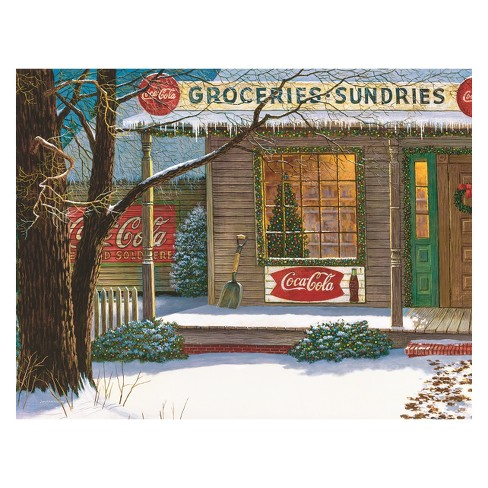 Springbok Christmas Store Puzzle 500pc - image 1 of 2