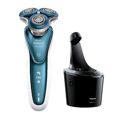 Philips Norelco 7500 for Sensitive Skin Wet & Dry Men's Rechargeable Electric Shaver - S7371/84