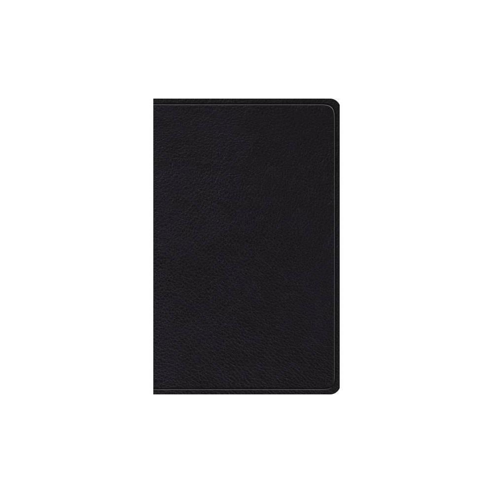 Holy Bible : English Standard Version, Thinline Bible, Black - (Paperback)