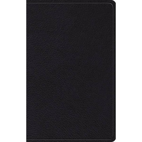 Holy Bible English Standard Version Thinline Bible Black Paperback Target
