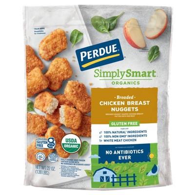 Perdue Simply Smart Organics Gluten Free Breaded Chicken Breast Nuggets - Frozen - 22oz