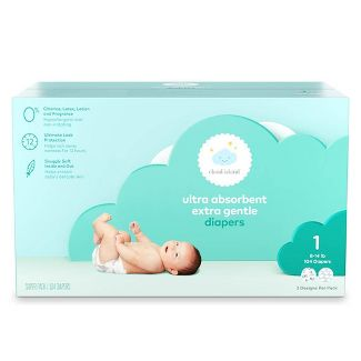 Club Pack Diapers - Size 1 (104ct) - Cloud Island™