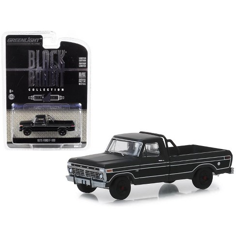 "1975 Ford F-100 Pickup Truck ""Black Bandit"" Series 21 1/64 Diecast Model Car by Greenlight - image 1 of 1"