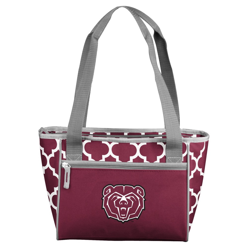 NCAA Logo Brands 16 Can Cooler Tote Missouri State Bears