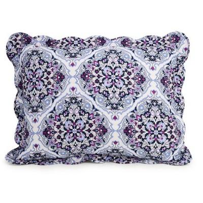 Regal Rosettes Bedspread Pillow Shams - Vera Bradley