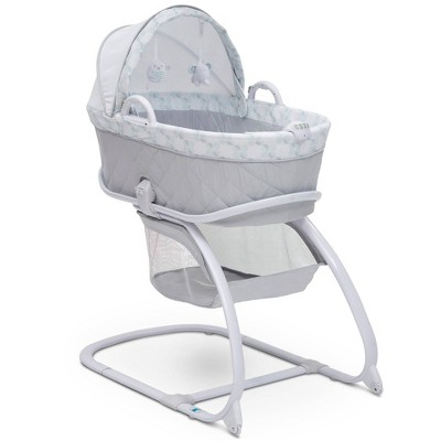 Delta Children Deluxe Moses Bassinet - Windmill