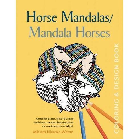 Horse Mandalas/Mandala Horses - (Paperback) - image 1 of 1