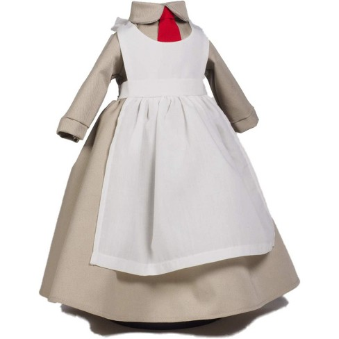 The Queen's Treasures® 18 Inch Historic Doll Clothes Outfit, WWI Salvation Army Doughnut Girl Outfit - image 1 of 5