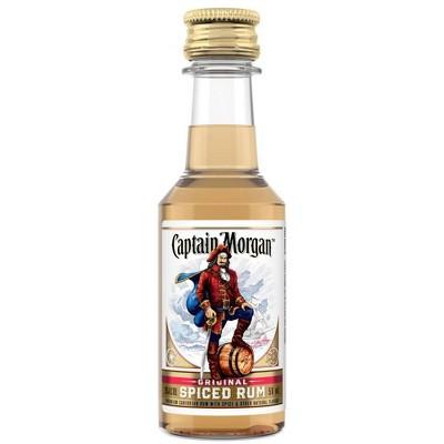 Captain Morgan Spiced Rum - 50ml Plastic Bottle