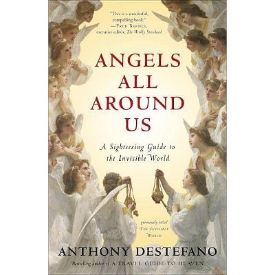 Angels All Around Us - by  Anthony DeStefano (Paperback)