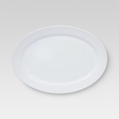 All Over Bead Serving Platter - Large - Threshold™