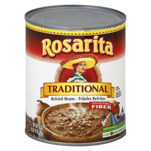 Rosarita Traditional Refried Beans 30 oz - image 1 of 1